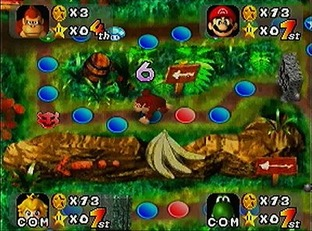 Test Mario Party Nintendo 64 - Screenshot 1