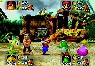 Test Mario Party Nintendo 64 - Screenshot 2