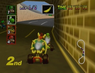 Test Mario Kart 64 Nintendo 64 - Screenshot 10