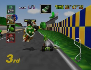 Test Mario Kart 64 Nintendo 64 - Screenshot 11
