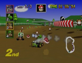 Test Mario Kart 64 Nintendo 64 - Screenshot 15