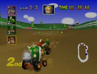 Test Mario Kart 64 Nintendo 64 - Screenshot 16