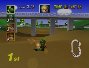 Test Mario Kart 64 Nintendo 64 - Screenshot 17