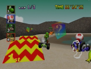 Test Mario Kart 64 Nintendo 64 - Screenshot 18