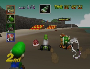 Test Mario Kart 64 Nintendo 64 - Screenshot 19