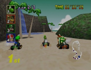 Test Mario Kart 64 Nintendo 64 - Screenshot 20