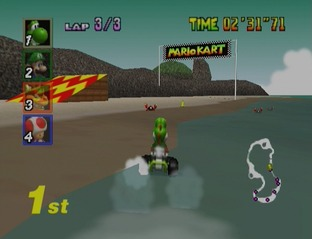 Test Mario Kart 64 Nintendo 64 - Screenshot 21