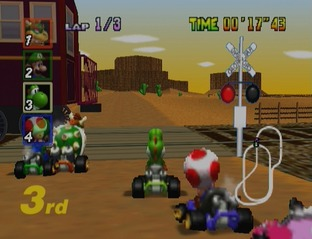 Test Mario Kart 64 Nintendo 64 - Screenshot 22