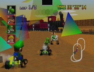 Test Mario Kart 64 Nintendo 64 - Screenshot 23