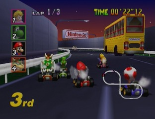 Test Mario Kart 64 Nintendo 64 - Screenshot 26