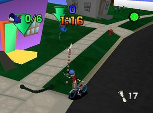 Test Paperboy Nintendo 64 - Screenshot 14
