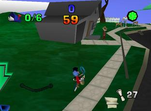 Test Paperboy Nintendo 64 - Screenshot 15
