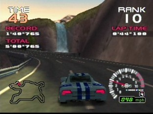 Test Ridge Racer 64 Nintendo 64 - Screenshot 2