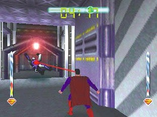 Test Superman Nintendo 64 - Screenshot 1