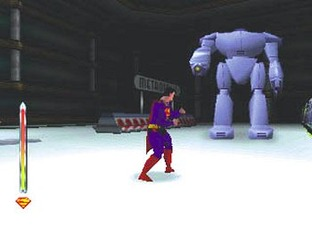 Test Superman Nintendo 64 - Screenshot 2