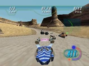 Test Star Wars Episode 1 : Racer Nintendo 64 - Screenshot 2