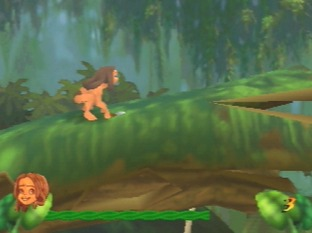 Test Tarzan Nintendo 64 - Screenshot 1