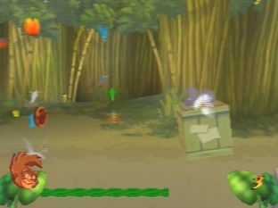 Test Tarzan Nintendo 64 - Screenshot 3