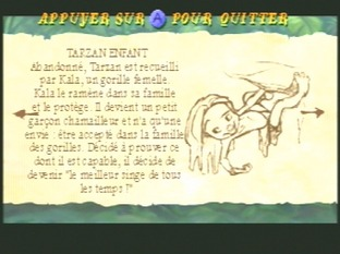 Test Tarzan Nintendo 64 - Screenshot 4