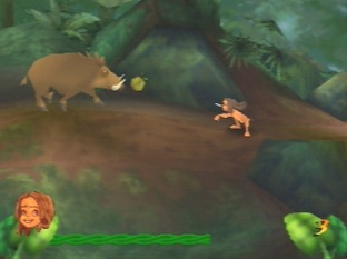 Test Tarzan Nintendo 64 - Screenshot 6