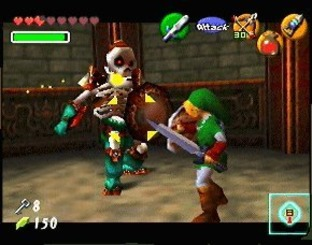 The Legend of Zelda : Ocarina of Time N64 - Screenshot 5