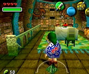 Test Zelda : Majora's Mask Nintendo 64 - Screenshot 12