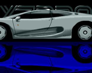 Fiche complète Jaguar XJ220 - Amiga