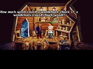 Test Monkey Island 2 : LeChuck's Revenge Amiga - Screenshot 1