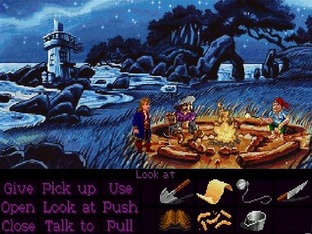 Test Monkey Island 2 : LeChuck's Revenge Amiga - Screenshot 2