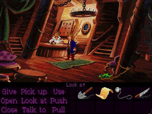 Test Monkey Island 2 : LeChuck's Revenge Amiga - Screenshot 3