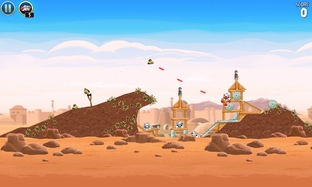 Test Angry Birds Star Wars Android - Screenshot 6
