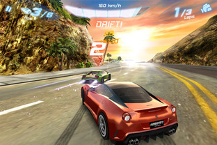 Test Asphalt 6 : Adrenaline Android - Screenshot 1