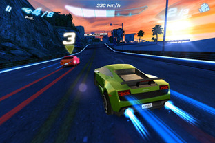 Test Asphalt 6 : Adrenaline Android - Screenshot 2