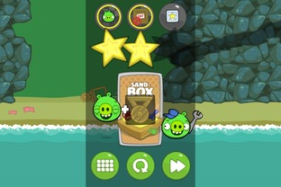 Test Bad Piggies Android - Scree