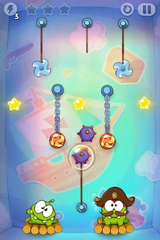 Test Cut the Rope : Time Travel Android - Screenshot 13