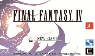 Final Fantasy 4 disponible sur Android