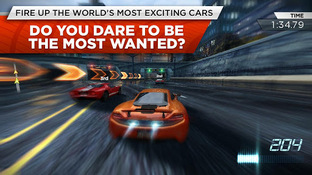 Need for Speed : Most Wanted Android