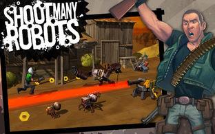 Shoot Many Robots revient sur mobiles