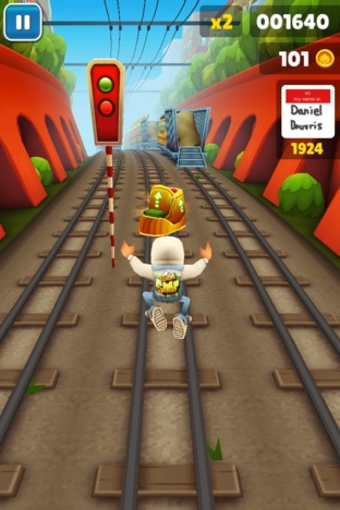 Test Subway Surfers Android - Screenshot 8