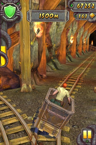 Test Temple Run 2 Android - Screenshot 6