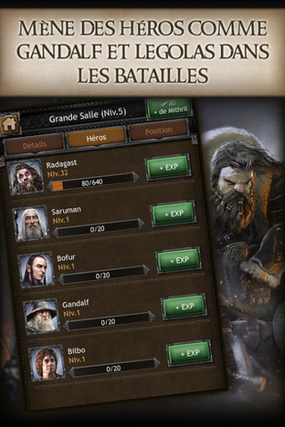 Fiche complète The Hobbit : Kingdoms of Middle-Earth - Android