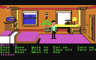 Test Zak McKracken and the Alien Mindbenders Commodore 64 - Screenshot 1