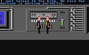 Test Zak McKracken and the Alien Mindbenders Commodore 64 - Screenshot 2
