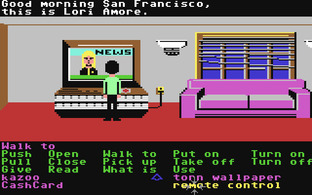 Test Zak McKracken and the Alien Mindbenders Commodore 64 - Screenshot 3