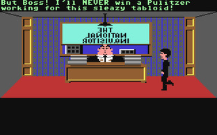 Test Zak McKracken and the Alien Mindbenders Commodore 64 - Screenshot 4