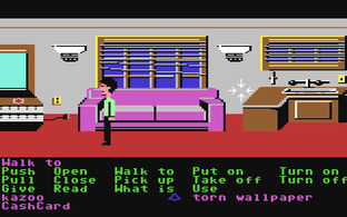 Test Zak McKracken and the Alien Mindbenders Commodore 64 - Screenshot 5