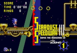 Test Sonic CD Mega-CD - Screenshot 9