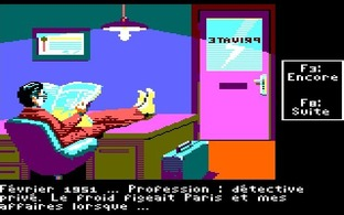 Test Le Manoir de Mortevielle Amstrad CPC - Screenshot 1
