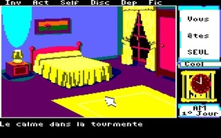 Test Le Manoir de Mortevielle Amstrad CPC - Screenshot 5