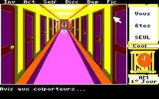 Test Le Manoir de Mortevielle Amstrad CPC - Screenshot 6